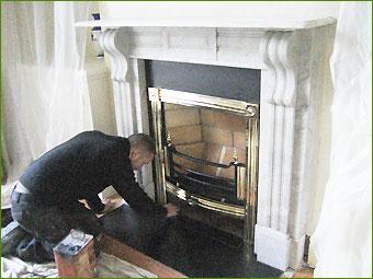 Restoring Antique Fireplaces